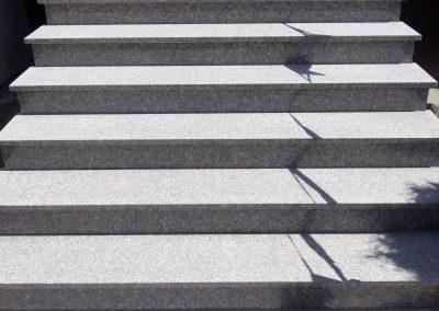schody Brąz królewski